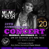 Mumu Fresh at City Winery